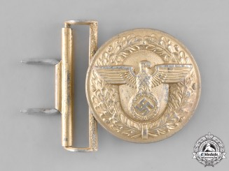 Germany. A Belt Buckle for Political Leaders of the NSDAP, by Franke & Co., Lüdenscheid