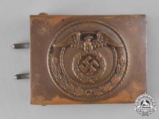 Germany. An SA-Mann's Belt Buckle