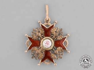 Russia, Imperial. An Order of Saint Stanislaus in Gold, III Class, c.1900