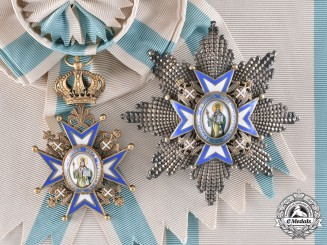 Serbia, Kingdom. An Order of St. Sava, I Class Grand Cross, c.1930