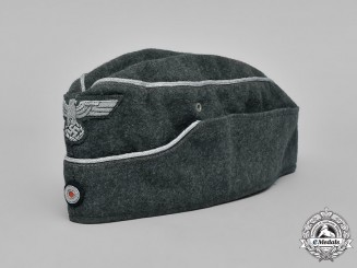 Germany, Wehrmacht. An Officer's Overseas Cap, 1941