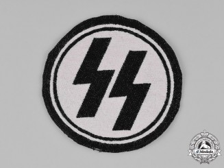 Germany. An SS Sport Shirt Insignia, RZM Tagged