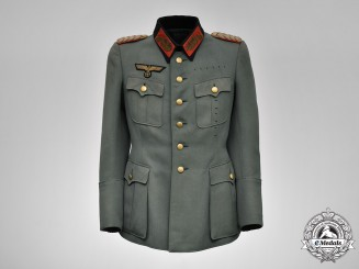 Germany, Wehrmacht. A Generalmajor (Major General) Service Tunic