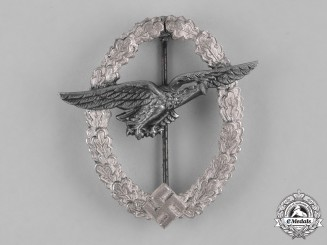 Germany, Luftwaffe. A Luftwaffe Glider Pilot Badge, Replacement Private Purchase