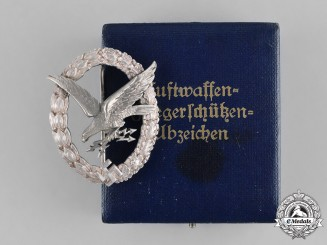 Germany, Luftwaffe. An Early Radio Operator Badge, by C. E. Juncker