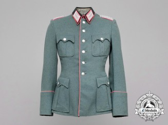 Germany, Heer. An Army (Heer) Panzer Major Officer's Tunic, by Christian Schwarz & Sohn
