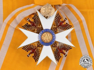 Prussia, Kingdom. An Order of the Red Eagle in Gold, Grand Cross with Oak Leaves, c.1915