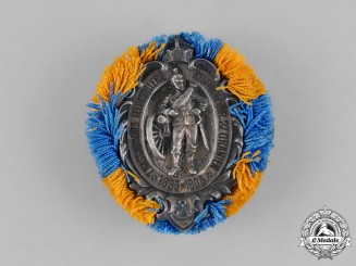 Germany, Imperial. A 1908 Silver Field Artillery Regiment Anniversary Badge