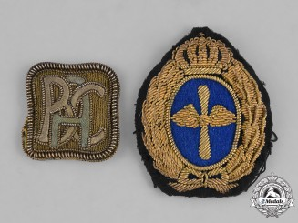 Germany, Imperial. A Pair of Bavarian Aero Club Pilot's Sleeve Insignia