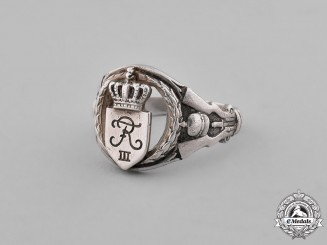 Germany, Imperial. A Silver Signet Ring