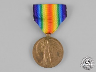 Canada. A Victory Medal, to Barclay Evelyn Walton, 29th Infantry Battalion, 44th Infantry Battalion, Killed in Action during the Battle of Hill 70