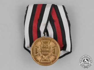 Germany, Empire. A War Commemorative Medal of 1870/1871, Mounted