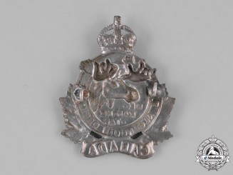 Canada. An Algonquin Regiment Cap Badge