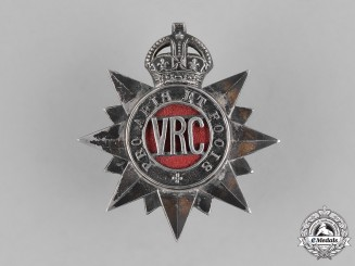 Canada. A Victoria Rifles of Canada Officer's Cap Badge