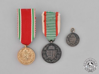 Bulgaria, Kingdom. Three First War Miniature Commemorative Medals