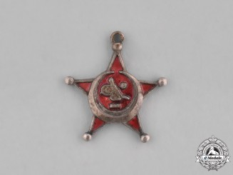 Turkey, Ottoman Empire. A Miniature First War Turkish War Medal (AKA Galipoli Star)