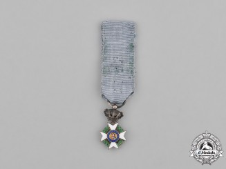 Greece. A Miniature Order of the Redeemer, Knight's Cross, Type II (1963-1924 and 1935-1984)