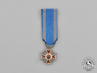 Romania, Kingdom. A Miniature Order of the Crown of Romania, Civil Division, Type I (1881-1932)