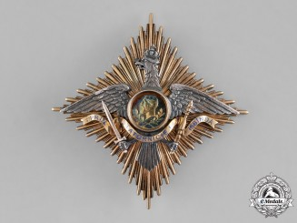 Romania, Kingdom. An Order of Carol I, Grand Officer's Star, by Paul Tegle, c.1909