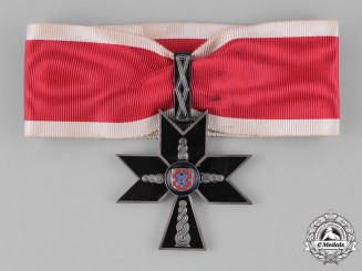 Croatia. An Order of the Iron Trefoil, I Class, c.1941