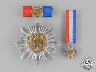 Croatia, Republic. An Order of Danica Hrvatska, 1995