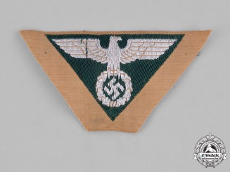 Germany, SA. A Sturmabteilung (SA) Group Nordmark Unissued Side Cap Insignia