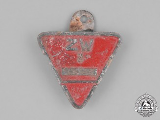 Germany, Third Reich. An Occupied Territories Munition Factory Worker's Lapel Badge