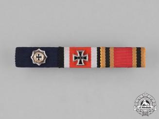 Germany, Federal Republic. A Three-Piece Medal Ribbon Bar, 1957 Version