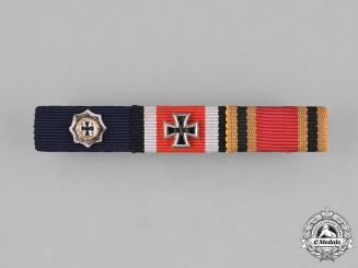 Germany, Federal Republic. A Three-Piece Medal Ribbon Bar, 1957 Version