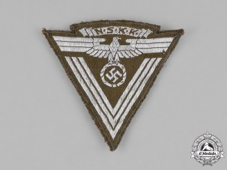 Germany, NSKK. An Unissued National Socialist Motor Corps Sudetenland District Sleeve Insignia