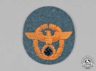 Germany, Wehrmacht. An Unissued Feldgendarmerie NCO's Sleeve Insignia