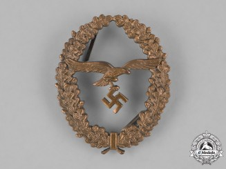 Germany, Luftwaffe. A Luftwaffe Marksmanship Proficiency Lanyard Badge