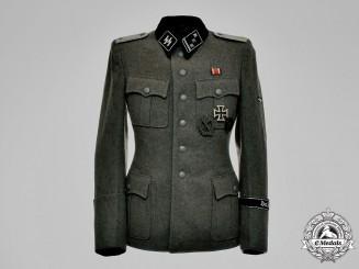 """Germany, Waffen-SS. A SS-Standarte """"Der Führer"""" Obersturmfüher Rank Tunic"""