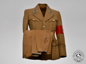 Germany, NSDAP. An Orts Level Stellenleiter Uniform