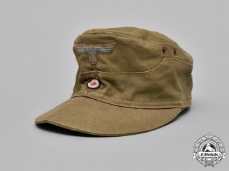 Germany. An Africa Corps M43 Field Cap
