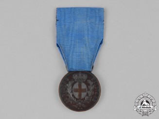 Italy, Kingdom. A Second War Medal for Military Valour, Bronze Grade, c.1938
