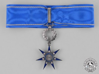 France, Republic. An Order of the Pléiade, III Class Commander