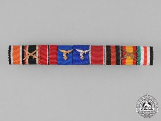 Germany, Wehrmacht. An Extensive Second War Period Medal Ribbon Bar