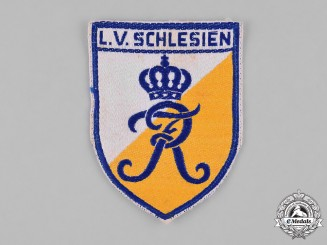 Germany, Weimar. A Stahlhelm Schlesien (Silesia) Sleeve Patch