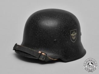 Germany, Civic Police. A Civic Police (Polizei) Steel Helmet