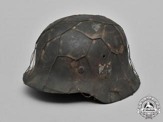 Germany, Heer. A Wehrmacht Heer (Army) M42 Combat Helmet