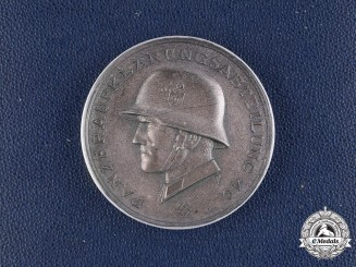 Germany, Heer. A Cased 14th Panzer Division Commemorative Medal by Deschler & Sohn