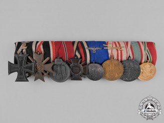Germany, Empire. An Extensive First and Second War Medal Bar