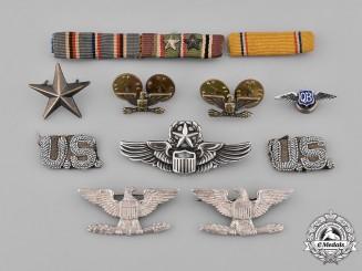 United States. A Second War, Korean War and Vietnam War Group to Colonel McGlothlin, USAF