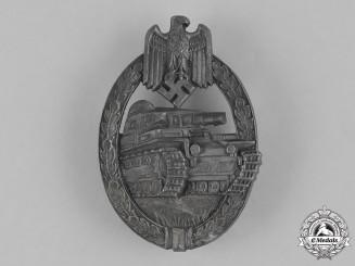 Germany, Wehrmacht. A Tank Assault Badge, Bronze Grade, by Hermann Aurich