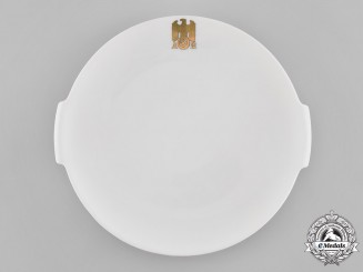 Germany, NSDAP. A Large Allach Serving Plate for the Führer