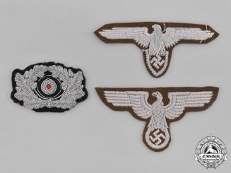 Germany. Three Third Reich Period Insignia