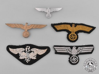 Germany. A Lot of Second War Period German Eagle Insignia