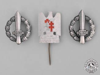 Italy, Kingdom. A Lot of Three Fascist Items