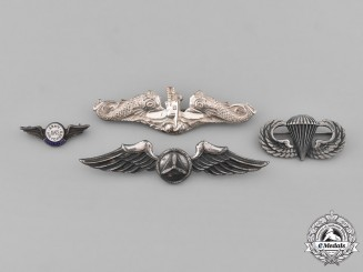 United States. Lot of Four Badges